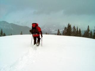 Schneeschuhtour Wettersteingebirge 2005