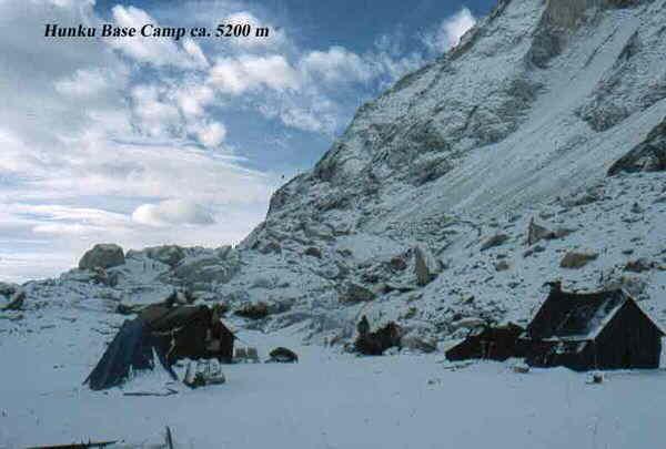 Hunku Basecamp 5200 m