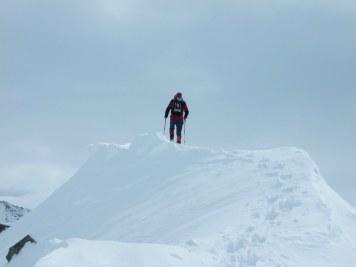 Am Gipfel des Kellerkopfs