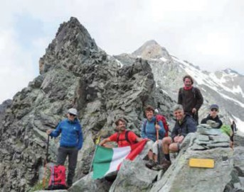 Am Colle Garin (2.872 m)