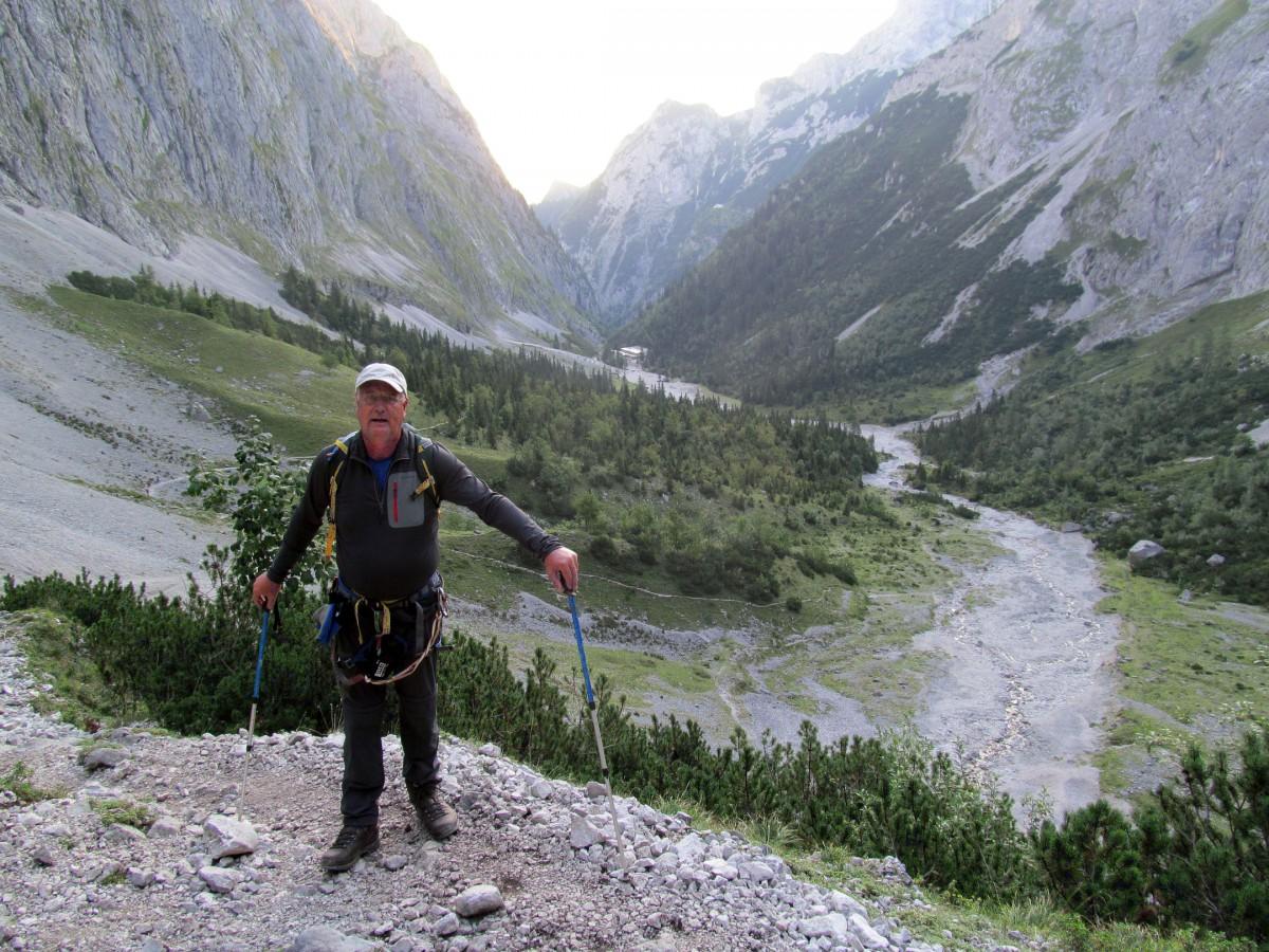 Klettersteig Zugspitze : Zugspitze über den höllentalsteig u harry s letzter klettersteig