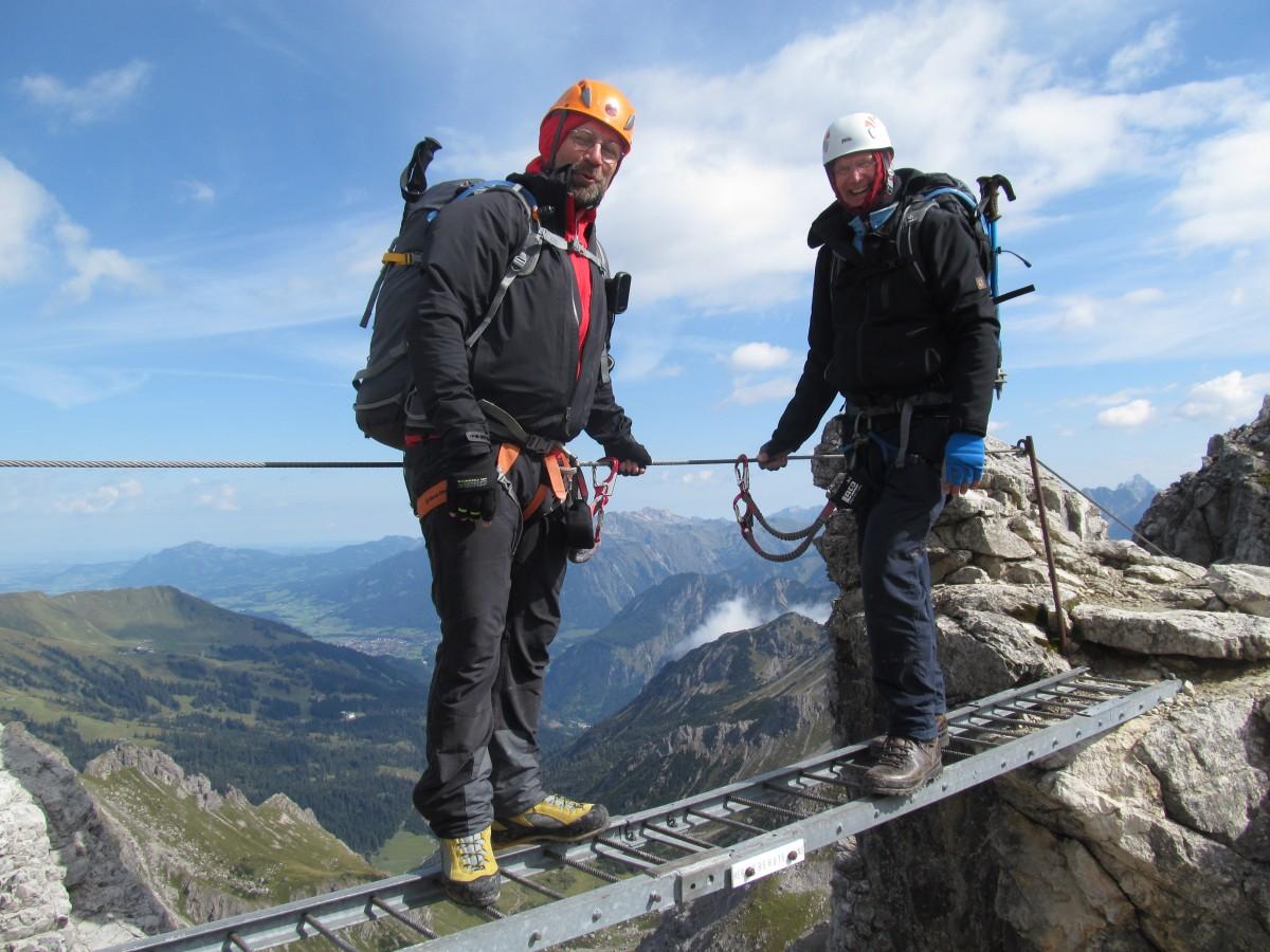 Mindelheimer Klettersteig Unfall : Zugspitze über den höllentalsteig u harry s letzter klettersteig